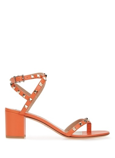 Valentino Garavani Sandalet Oranj
